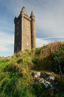 Scrabo Tower in October by Gerard1972