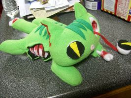 Zombie kitty plush by PollyRockets