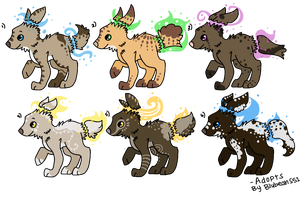 Peace keeper pup Adopts ::OPEN:: by LaurenBlu