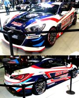 New Genesis Coupe Race Vehicle by toyonda