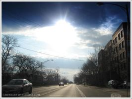 Madison St Sun Rays by suzieliciouz
