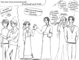 Fruits Basket comic: Wedding by geminimoon3