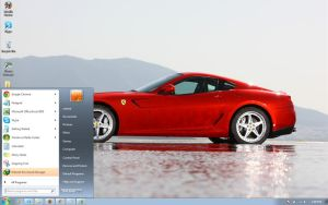 Ferrari-goodwood windows 7 theme by windowsthemes