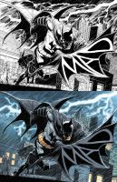 BATMAN DARK KNIGHT #21 by DustinYee