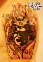 Samurai helmet by BPS-TATTOO