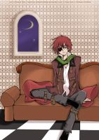 lavi's relaxed time by Toriichi