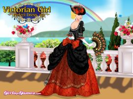 Victorian Girl Perfect Dress Up2 by infinityfractals