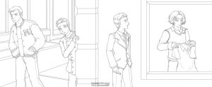 Glee: Chain of Pining by Twilight-Deviant