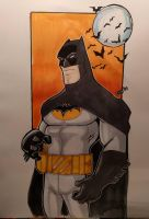 Batman markers by Glwills1126
