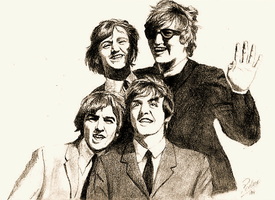 The Beatles by Pmag1