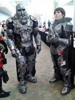 Zod and Faora from Man of Steel by StrikingCosplay