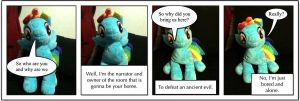 Pony Plushie Adventures Page 2 by Mlppam
