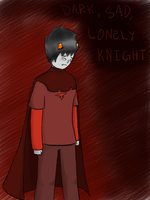 Dark Sad Lonely Knight by ForeverMuffin