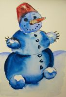 Snowman nr 4 by pagone