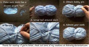 Knitters/Crocheters Tip by TheHarley