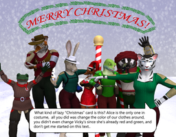 MERRY CHRISTMAS!!!!! (2014) by PlasticFrogCG
