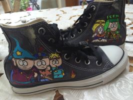 South Park shoes by FioLikesCookies