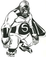 Sentry as a Gorilla by Stonegate