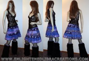 Patchwork-Tinkerbell-Skirt by RedheadThePirate