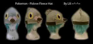 5th Gen - Pidove Hat by LiliNeko