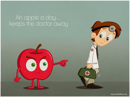 An Apple a day... by KellerAC