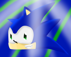 Sonic in 3D? by NSMBXomega