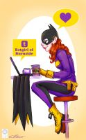 Cam Stewart Batgirl by e-carpenter