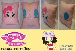 :MLP: Pinkie Pie Two-Sided Pillow by MiharutheKunoichi