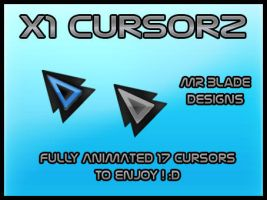 X1 Cursors by Mr-Blade