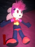 SONIA HEDGEHOG PLUSHIE by Victim-RED