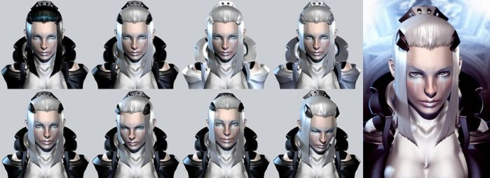 Pandora first contact character by soheil