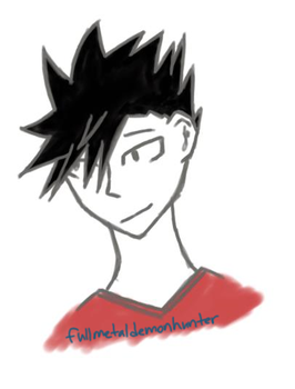 Kuroo by FullMetalDemonHunter