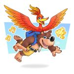 Day 4- Banjo Kazooie by LuigiL