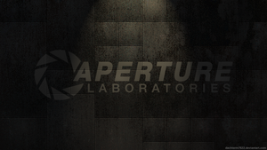 Aperture Laboratories Wallpaper by RenegadeAI