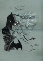 Daniel Sampere Batman Joker by Club-Batman
