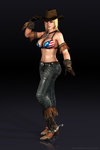 Tina Cowgirl render by Sterrennacht