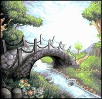 Bridge to Eden by SpriterDex