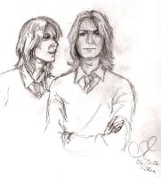 Fred and George by myfuturescominon