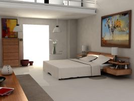 Room Interior 2 by savjar