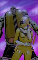 Tanya, The Yellow Zeo Ranger by diabolicol
