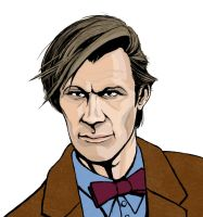 Doctor Who 11 Matt Smith by tvfunnyman