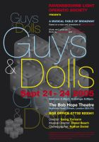Guys and Dolls poster by legley
