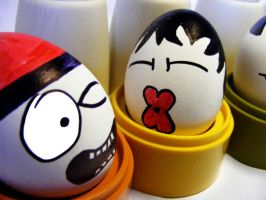 amorous eggs by andreasbf
