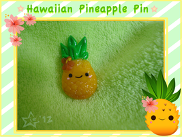 Hawaiian Pineapple Pin by stariearth