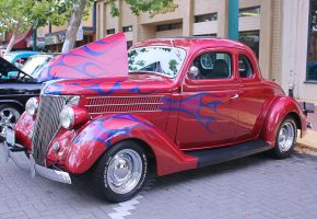 1936 Ford Coupe by StallionDesigns