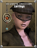 Steampunk Earrings Promo 5 by inception8