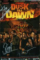 From Dusk Till dawn autographs by smalltownhero