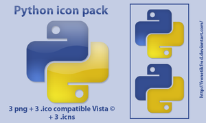 Python icon pack by FrenetikFred