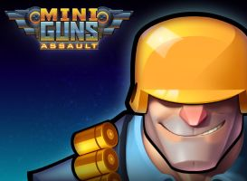 Miniguns: Assault Title Screen by Zatransis