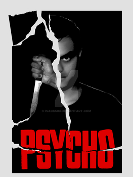 Psycho 1960 fanmade poster by Isack503